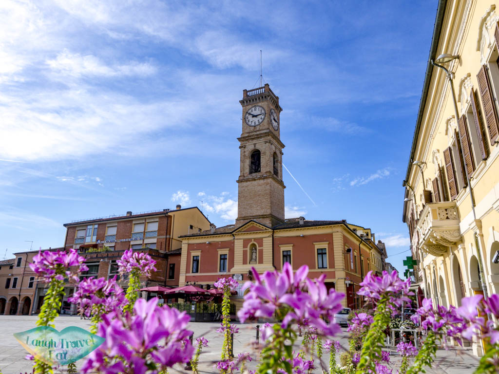 town square forlimpopoli emilia romagna italy - laugh travel eat