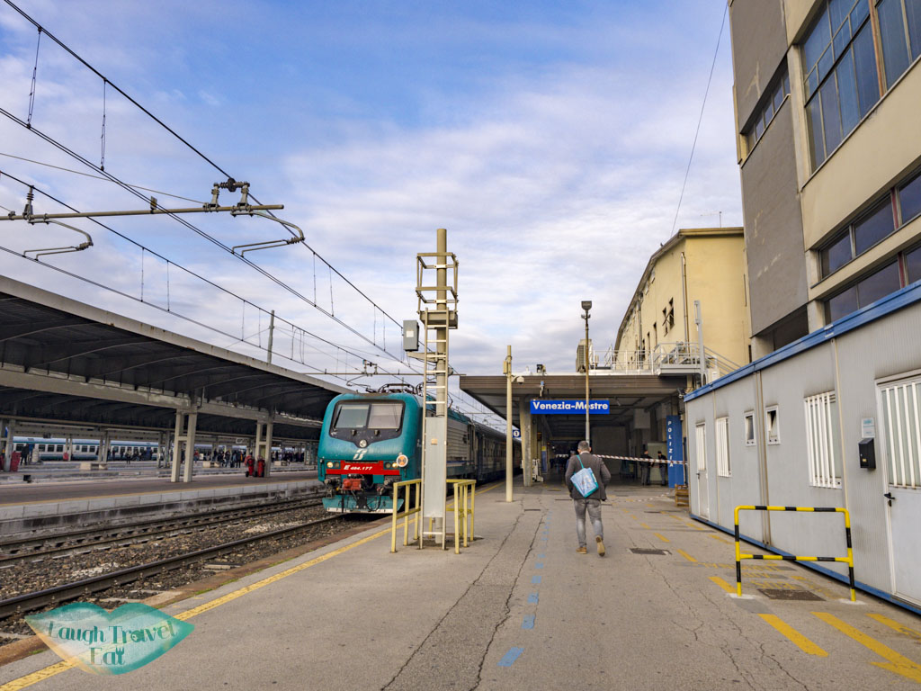 train station mestre venice - laugh travel eat