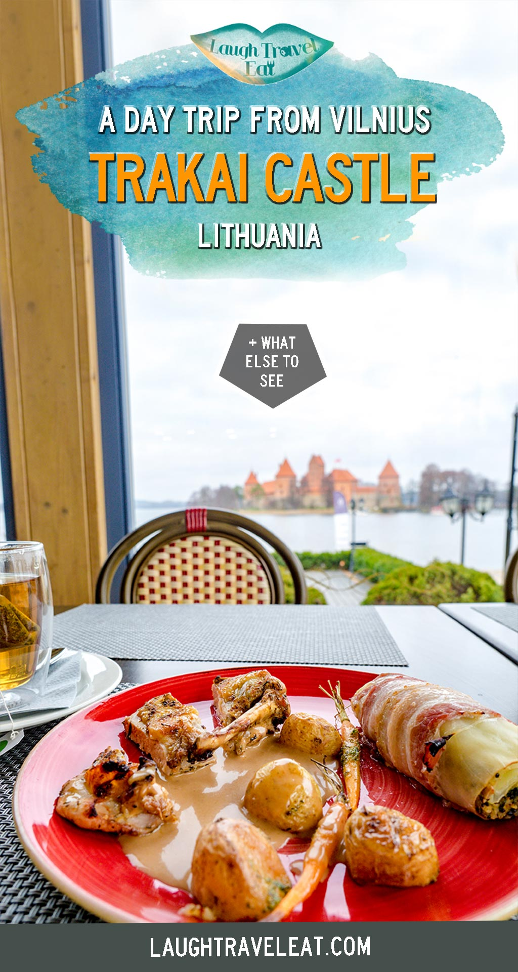 Trakai Castle is about an hour from Vilnius and a famous landmark not only because it is a castle in a lake. It is a historically significant castle that witness the beginning of the Grand Duchy of Lithuania and in particular its struggle with the Teutonic Order. Here's how to take a day trip there from Vilnius: #trakai #vilnius #Baltic #castle