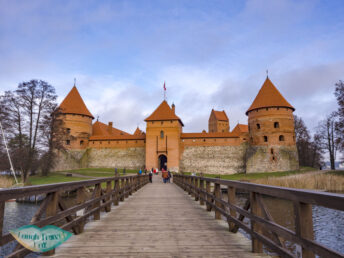 trakai island castle trakai lithuania - laugh travel eat