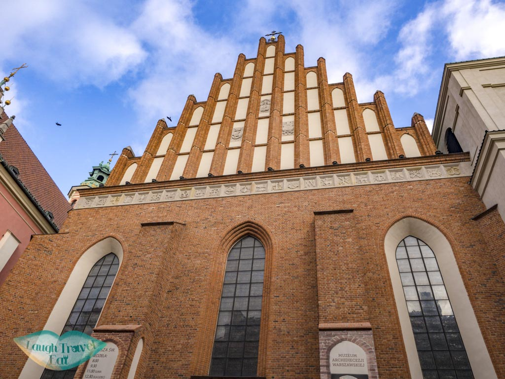 St. John's Archcathedral warsaw poland - laugh travel eat