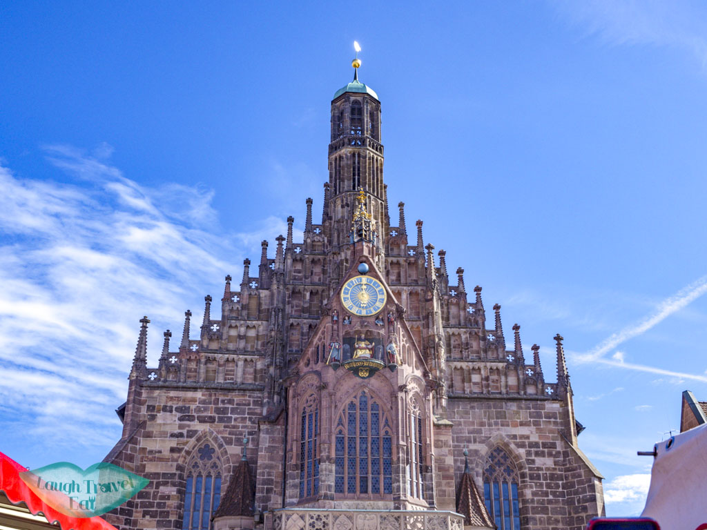 The Frauenkirche nuremberg germany - laugh travel eat