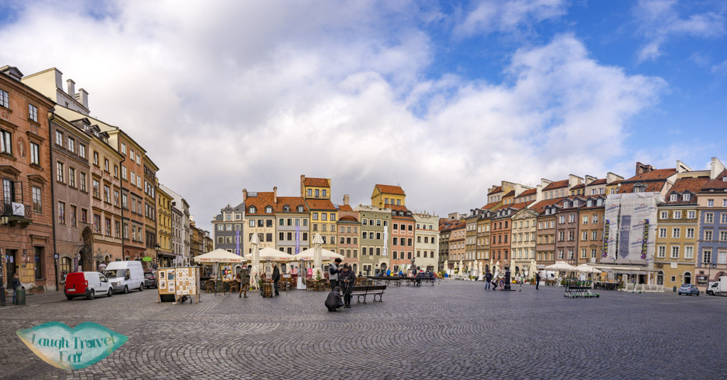 central square old town warsaw poland - laugh travel eat