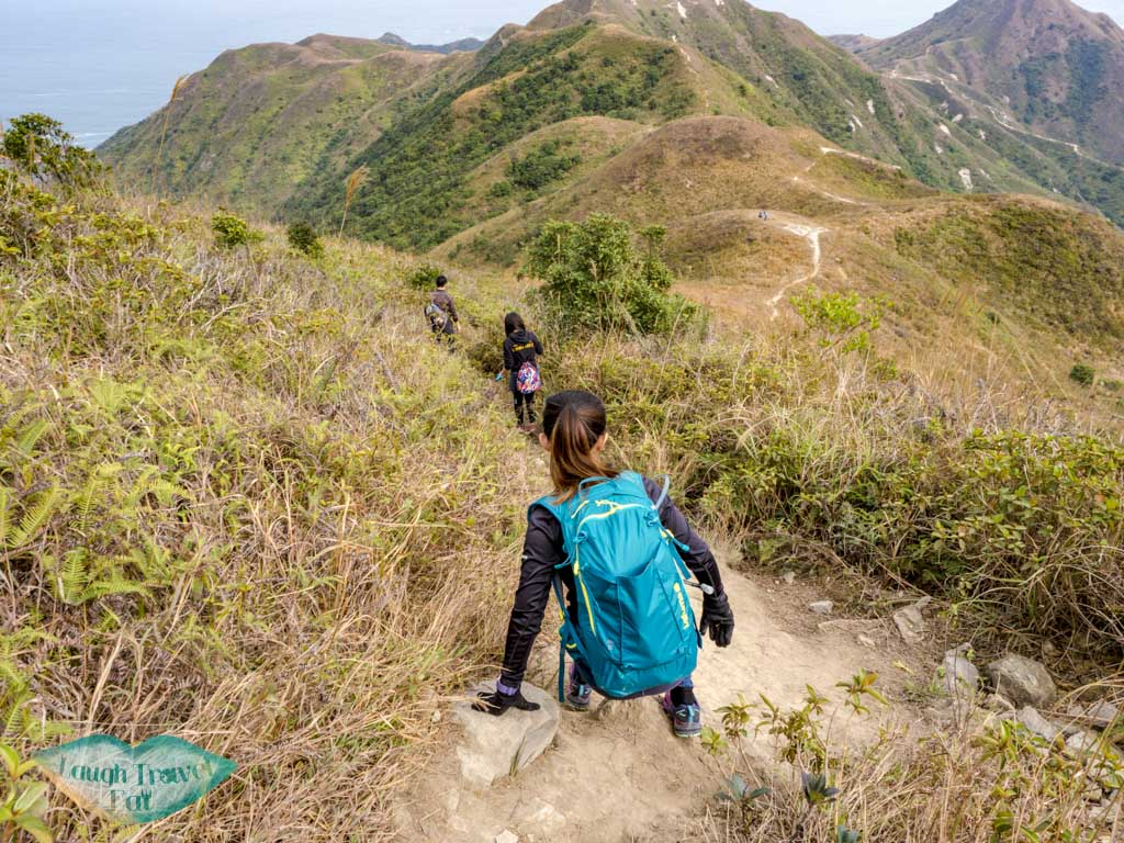 descent sharp peak sai kung hong kong - laugh travel eat
