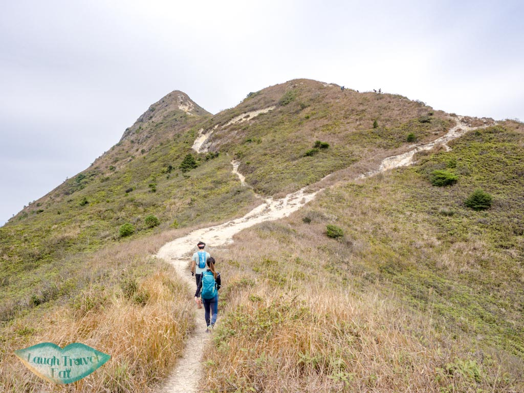 last part of ascent sharp peak sai kung hong kong - laugh travel eat-2