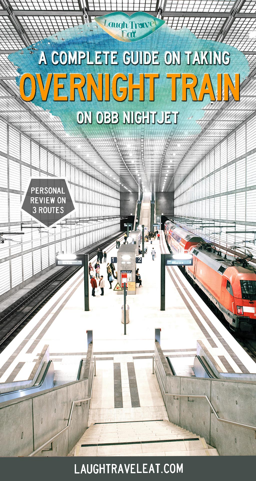 There are many night trains routes that can take you from one point of Europe to another overnight, so you can wake up in a new city without spending extra on hotel and arriving right in the center. On my recent 6 weeks trip, I took 3 night train and here's how to book a night train, where the routes run, and what my experience is: #Europe #train #nightrain