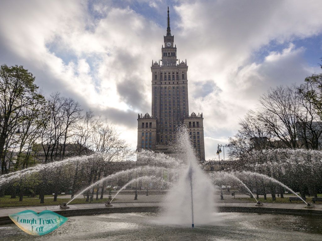 palace of culture and science warsaw poland - laugh travel eat