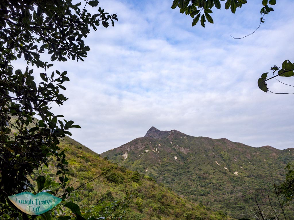 sharp peak seen from chek keng sai kung hong kong - laugh travel eat