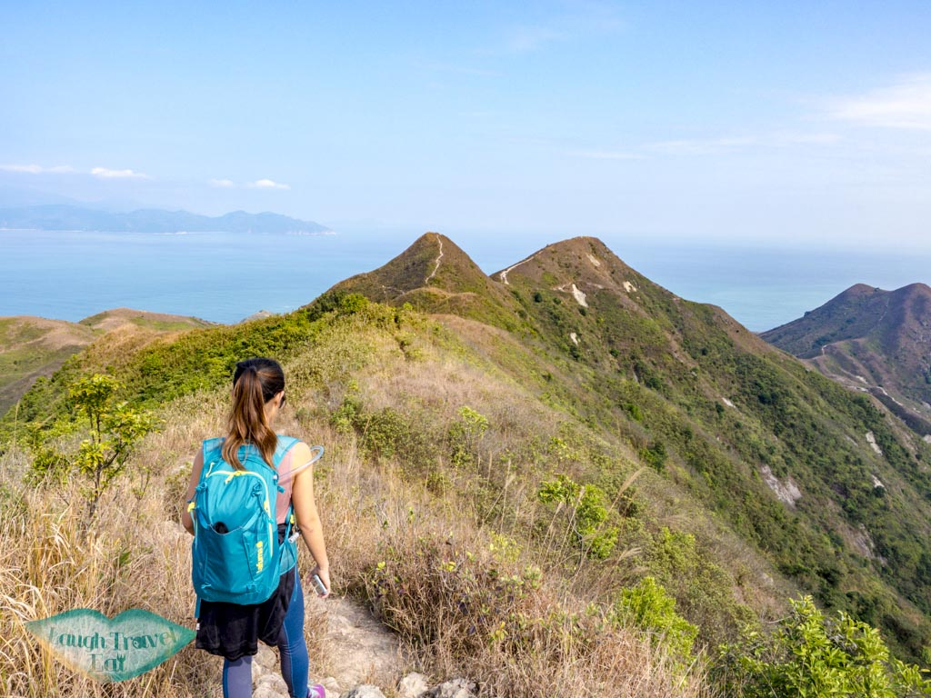 sharp peak to Mai Fan Teng sai kung hong kong - laugh travel eat