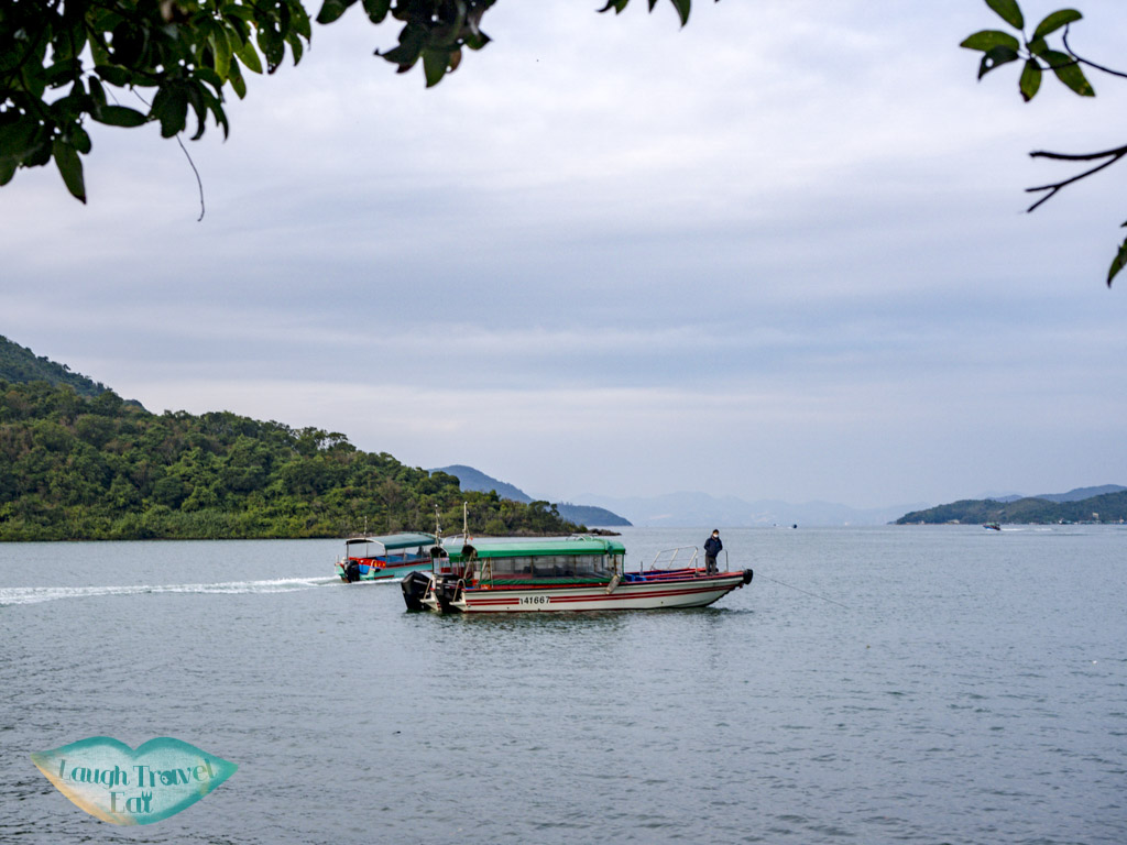 speed boat chek keng village sai kung hong kong - laugh travel eat