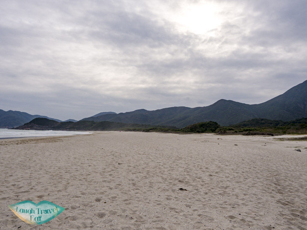 tai wan beach sai kung hong kong - laugh travel eat