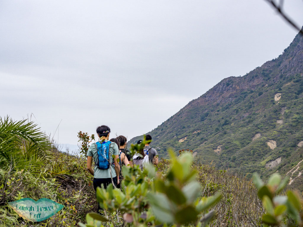 trail up to sharp peak sai kung hong kong - laugh travel eat