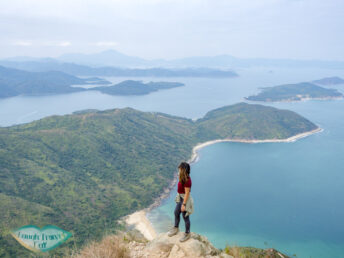 view point at the top sharp peak sai kung hong kong - laugh travel eat