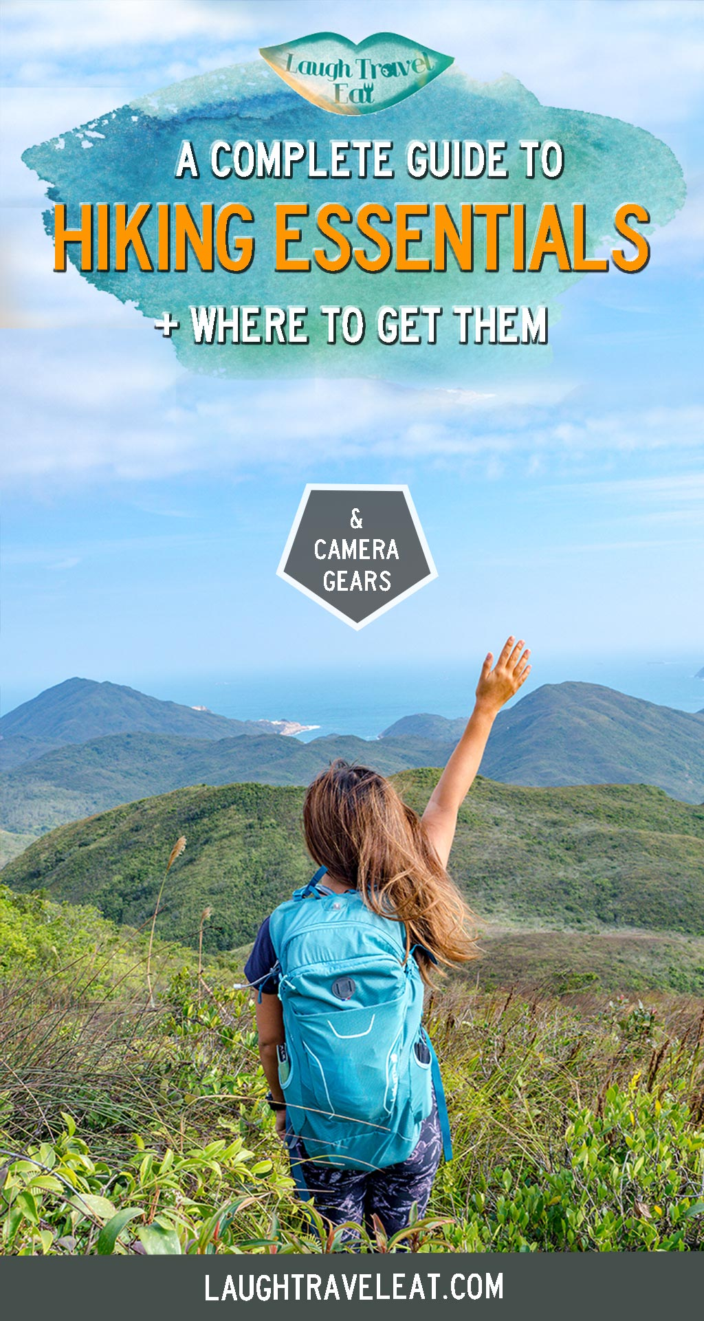 Planning on a day hike or doing more hikes? Here are some of my most trusted hiking essentials and gears - whether you want to be practical, looks cute, or want to see some reviews! Bonus: camera gears that I use! #hiking #hike #packinglist #hikingpackinglist