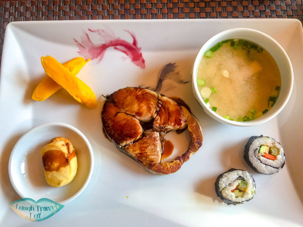 japanese breakfast zeavola koh phi phi thailand - laugh travel eat