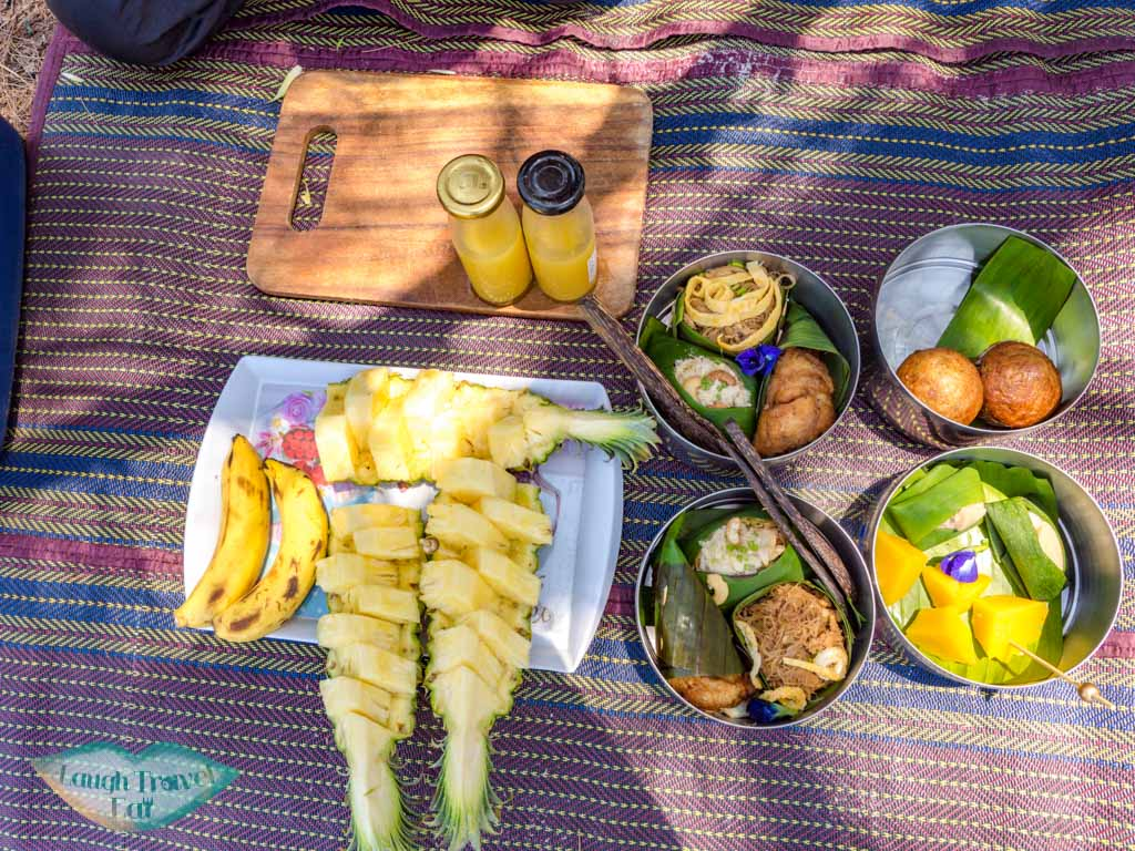 lunch lady ana excursion anana ecological resort ao nang krabi thailand - laugh travel eat
