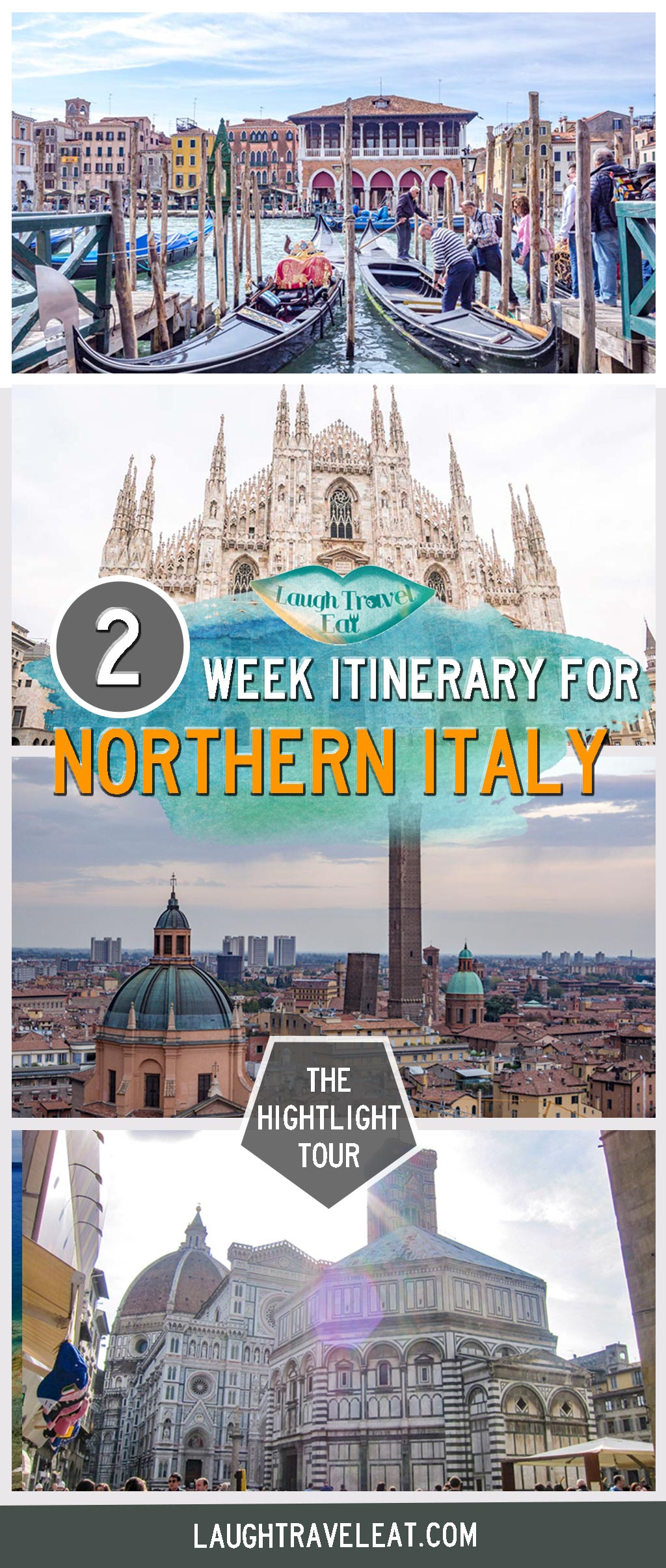 When it comes to northern Italy, there are so many stunning cities from the Italian Alps to the rolling vineyards of Tuscany. Trying to plan an itinerary for the entire northern Italy is difficult, and you're going to have to make some sacrifices. But fear not! I've spent months exploring this part of Italy, and I'm here to help you pick and choose what you want to see and how to see as much as you can: #Italy #itinerary #veneto #emiliaromagna