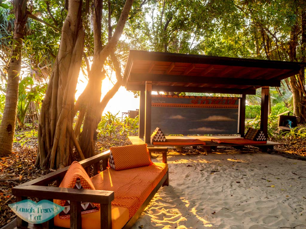 reception zeavola koh phi phi thailand - laugh travel eat