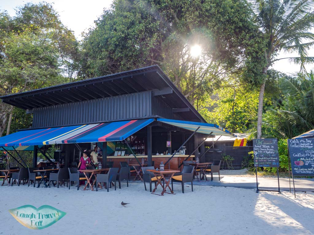 tacada beachside restaurant zeavola koh phi phi thailand - laugh travel eat