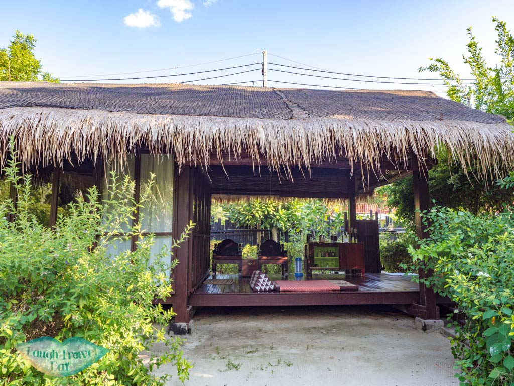 terrace of villa zeavola koh phi phi thailand - laugh travel eat