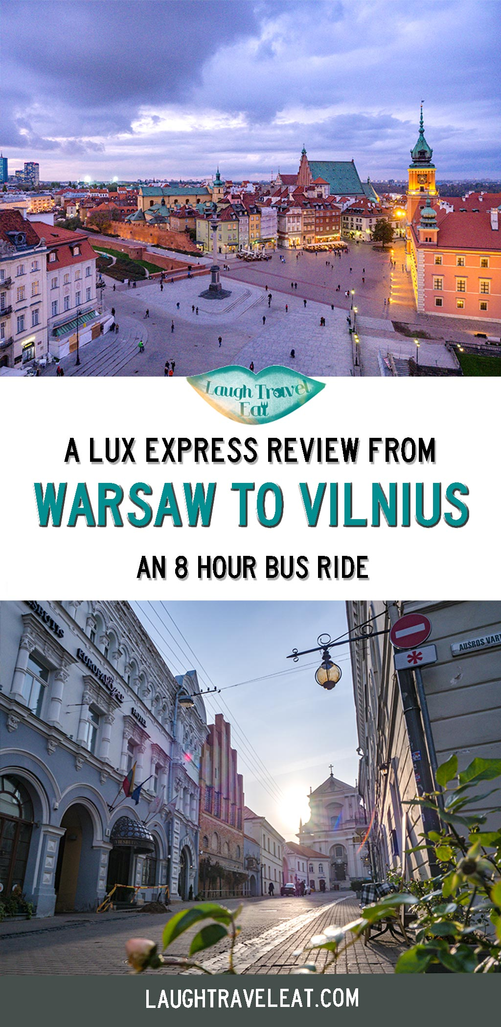 Warsaw to Vilinus is a long journey on bus, but in this part of Europe, from Warsaw up to the Baltics, the train connection isn't as good. At first, I was tentative about the almost 8 hour bus ride, but flying isn't exactly cheap. After checking out Lux Express, I decided that it sounds like a perfectly good option and I was right. Here's how my Warsaw to Vilnius journey went: #Warsaw #Vilnius #Bus #Overland