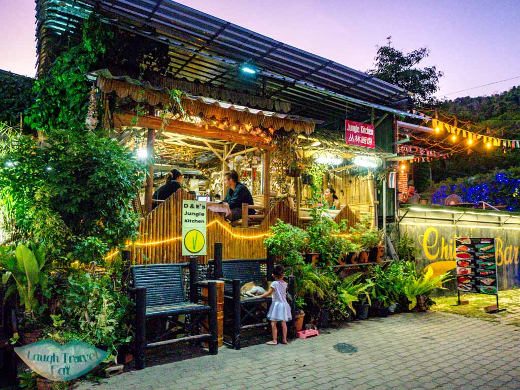 D&E jungle kitchen ao nang krabi thailand - laugh travel eat