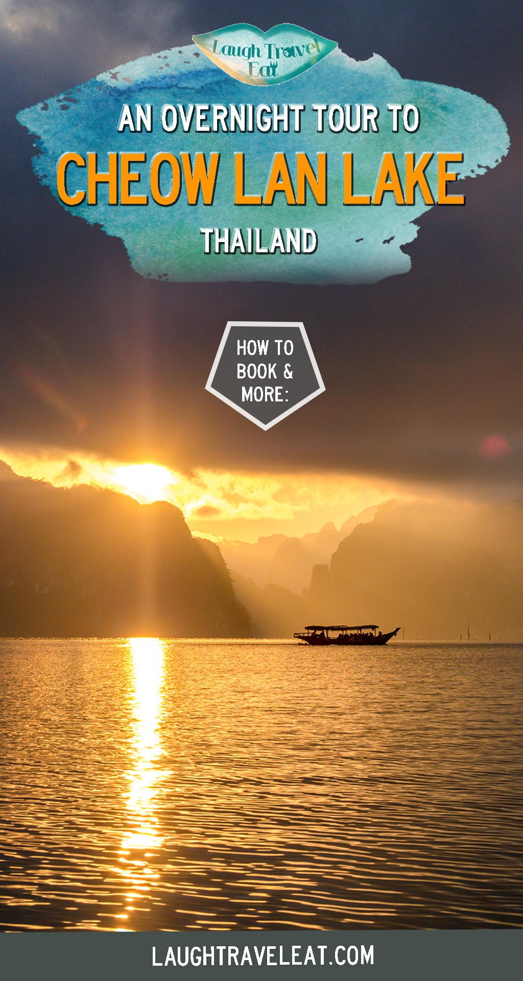 If there is one thing you can do in Khao Sok, make it the Cheow Lan Lake overnight tour. Formed as a result of the building of Ratchaprapha Dam in the 70s, it is surrounded by beautiful limestone mountains, formations, and hidden caves. The overnight lake tour takes you into the jungle, caves, and staying in an overwater raft house. Here's all you need to know about the Cheow Lan Lake tour: #KhaoSok #CheowLanLake #Thailand