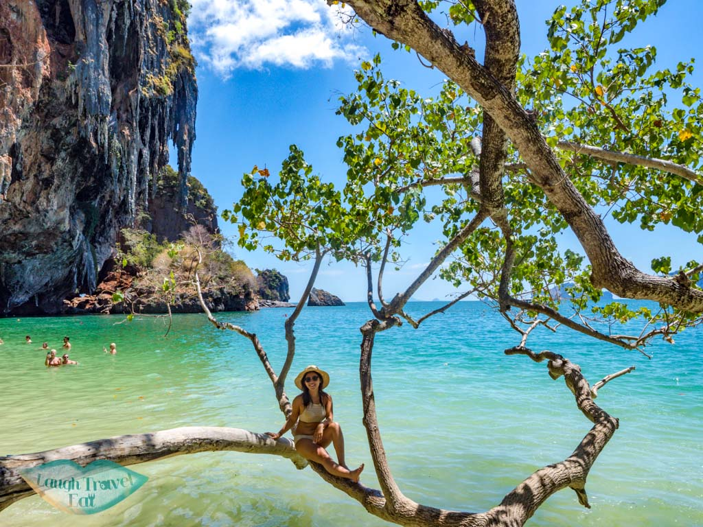 phra nang beach ao nang krabi thailand - laugh travel eat