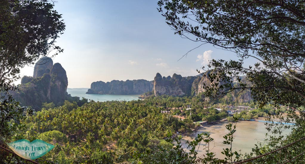 railay viewpoint krabi thailand - laugh travel eat