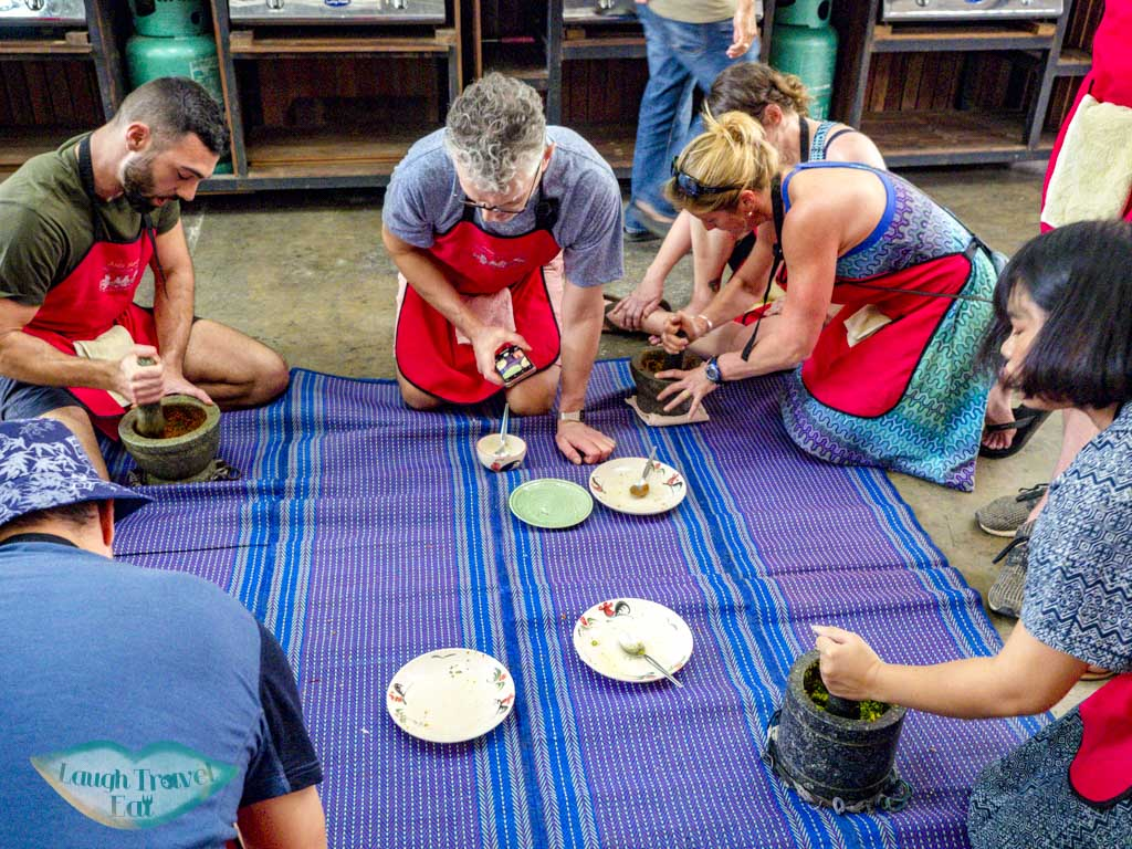 curry paste making backstreet academy asia scenic cooking class chiang mai thailand - laugh travel eat