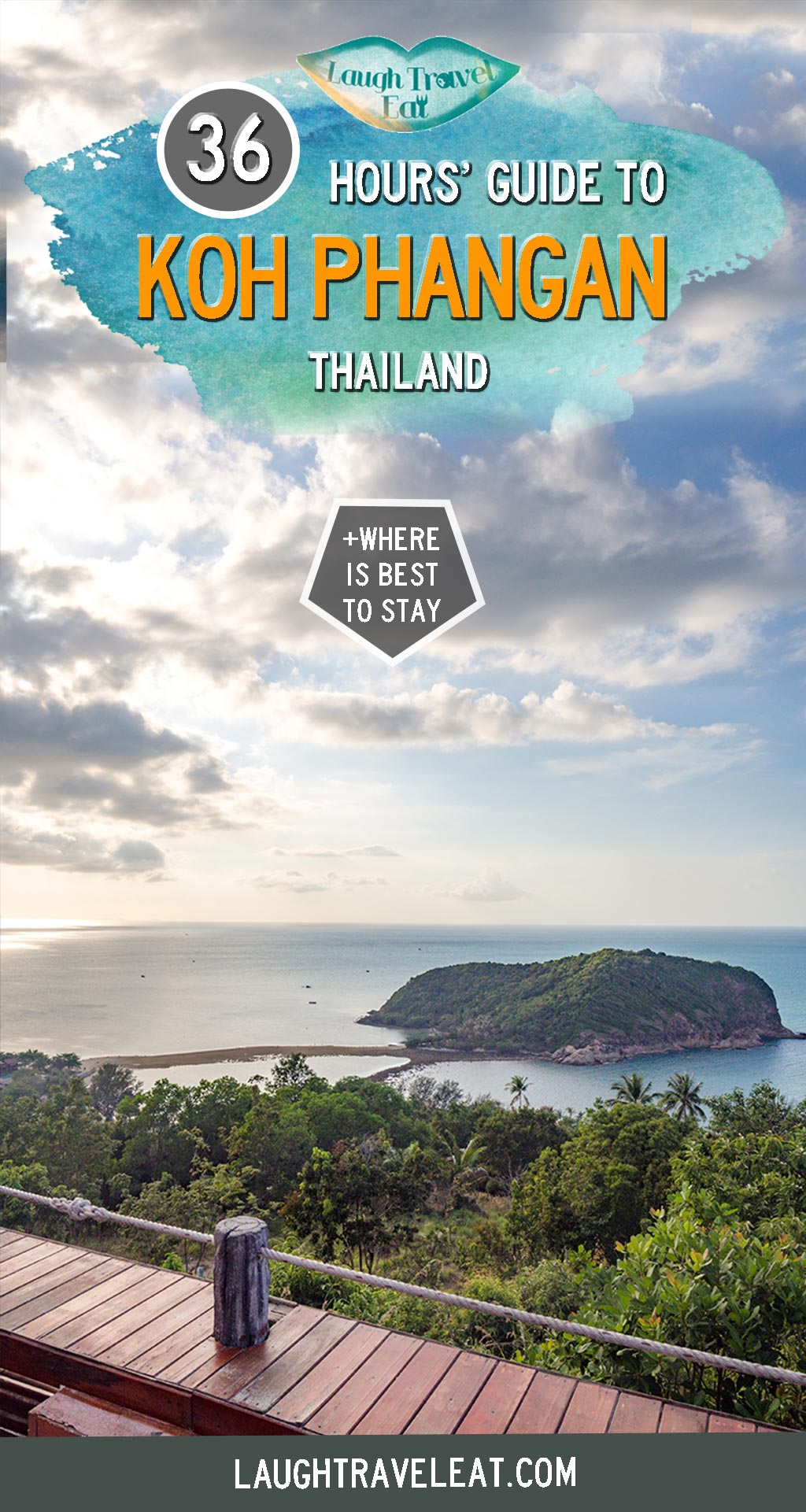 Known as the party island, Koh Pha-Ngan is somewhere that I wasn't sure I would like. While it's full of beautiful beaches and vista, it is more suited to people who can ride a motorbike and like to party. That said, if you - like me - want to visit the island on your trip, here's how I made the best of the 36 hours I had: #KohPhangan #Thailand