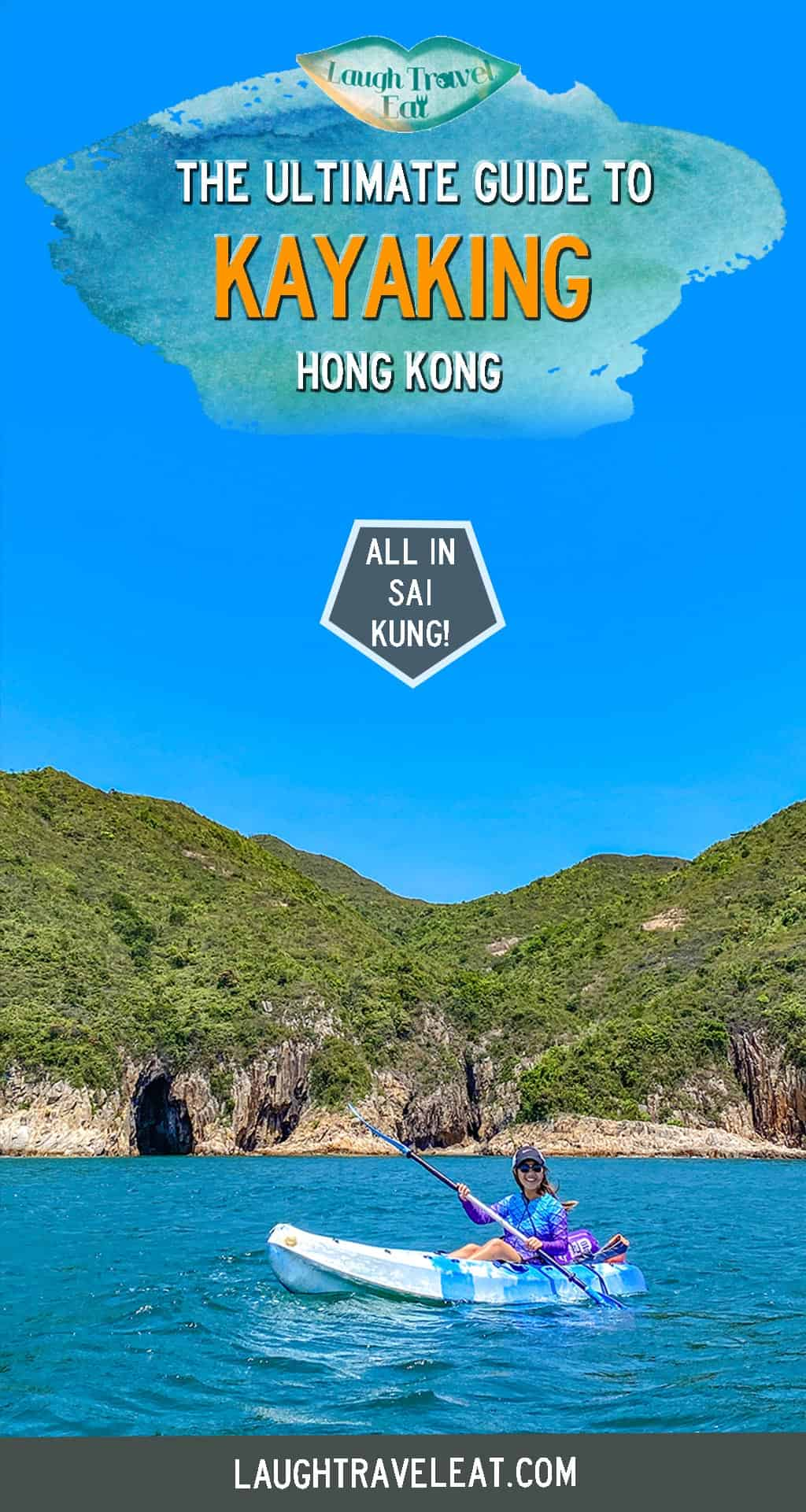 Kayaking in Sai Kung is one of the best summer activities to do in Hong Kong. Believe it or not, this concrete jungle has a pretty amazing coastline hidden and Sai Kung is one of the best. As we have a long summer here from May until basically October, it's too hot for hiking so most people turn to kayaking. Here's where to go, how to rent, and what to beware of #HongKong #SaiKung #Kayaking