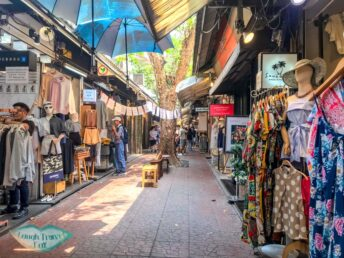 boutique design section chatuchak market bangkok thailand - laugh travel eat