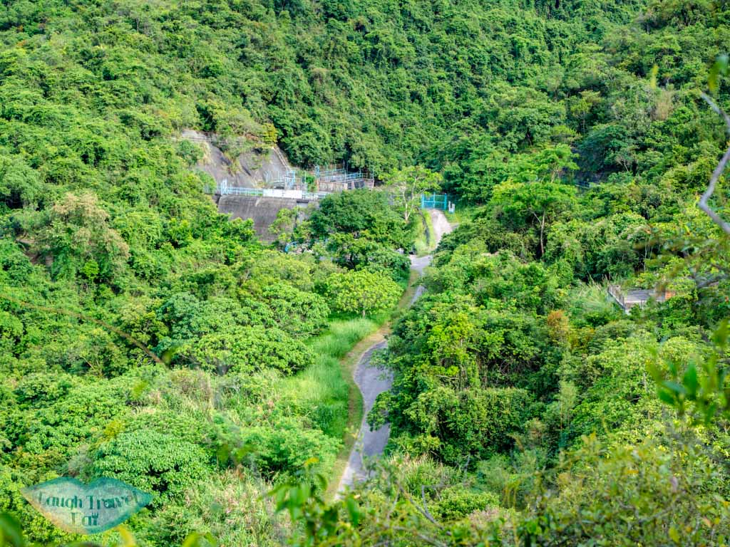 dam nam chung country trail ping nam stream fanling new territories hong kong - laugh travel eat
