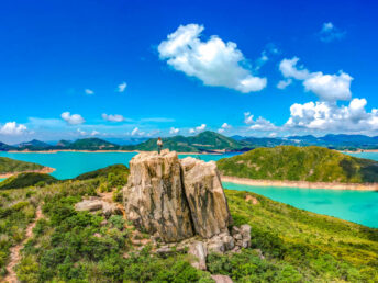 drone panorama kam kui shek teng trail sai kung hong kong - laugh travel eat