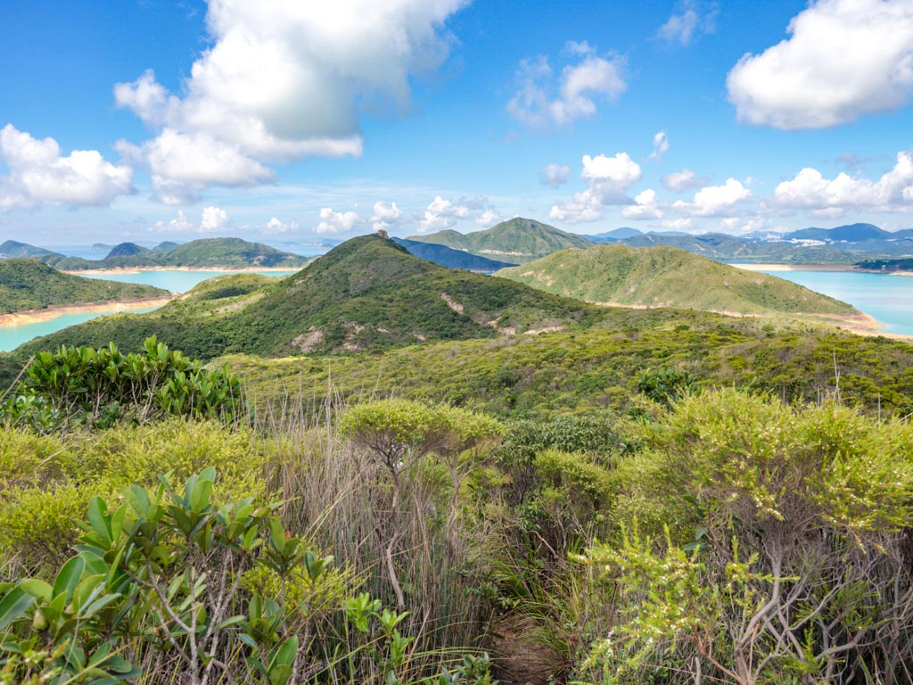 from maclehose stage 2 trail to kam kui shek teng trail sai kung hong kong - laugh travel eat