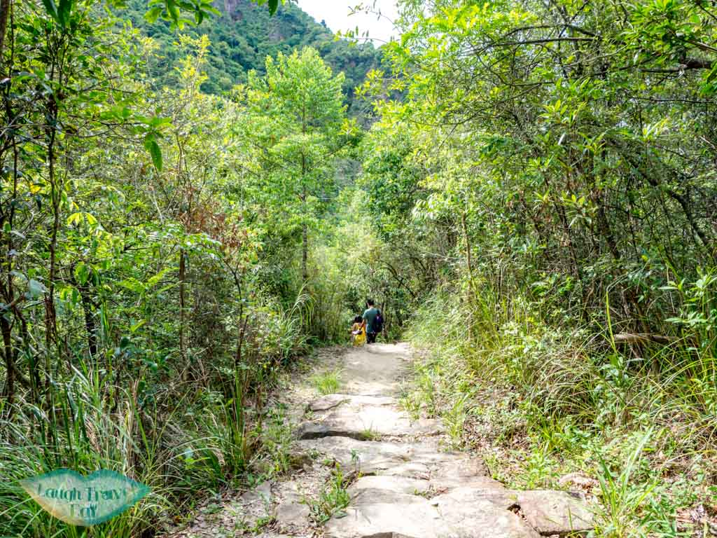 heading back out nam chung country trail ping nam stream fanling new territories hong kong - laugh travel eat