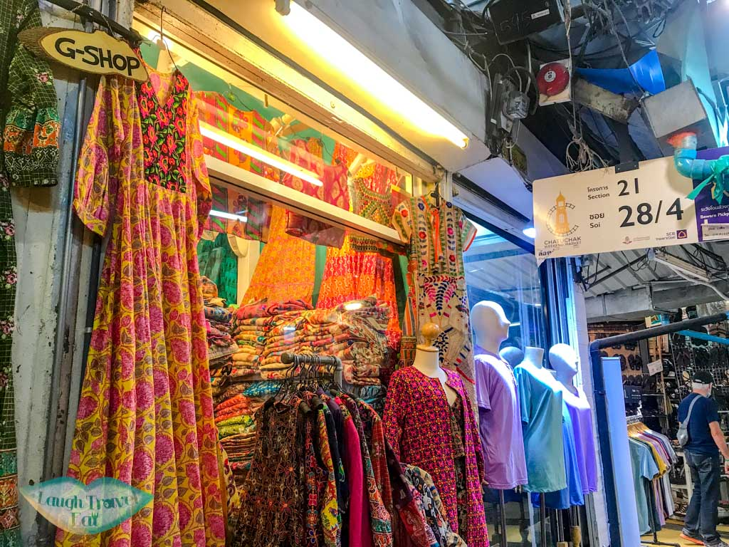 india style clothings chatuchak market bangkok thailand - laugh travel eat