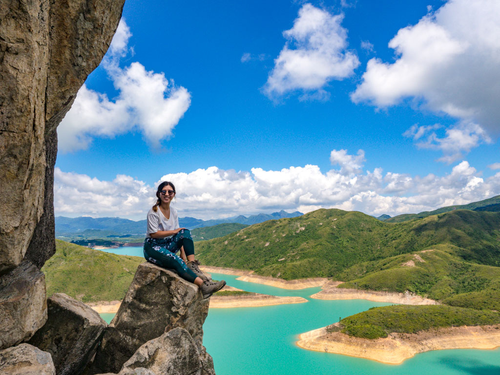 shot below kam kui shek teng trail sai kung hong kong - laugh travel eat