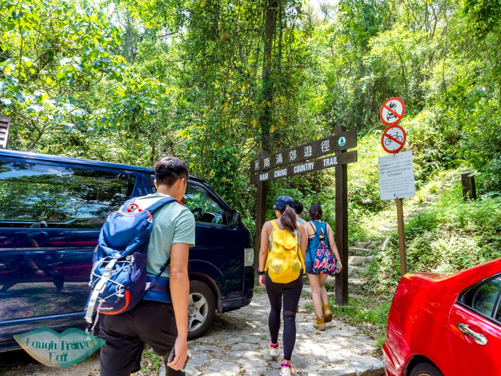 start of nam chung country trail fanling new territories hong kong - laugh travel eat