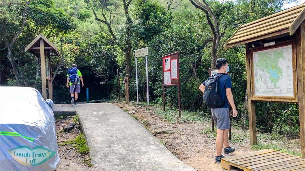 trail in from sai wan pavilion sai kung hong kong - laugh travel eat