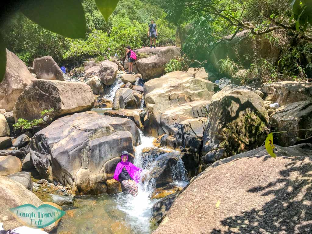 second stretch of Madai stream Ma On Shan Hong Kong - laugh travel eat