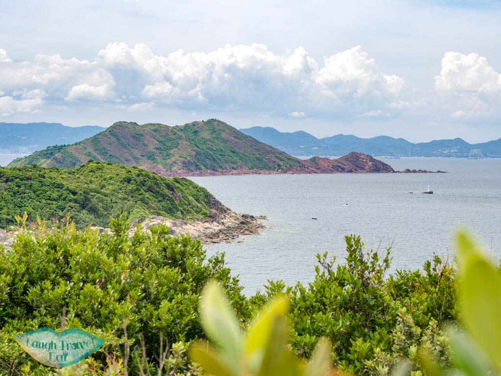 view of port island near lung keng kan north grass island sai kung hong kong - laugh travel eat