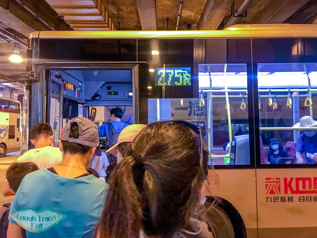 bus to wang chung stream from tai po market hong kong - laugh travel eat