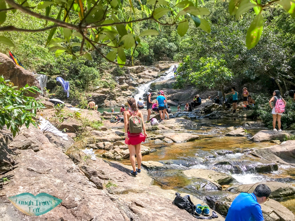 dam to swimming pool fall wang chung stream hong kong - laugh travel eat