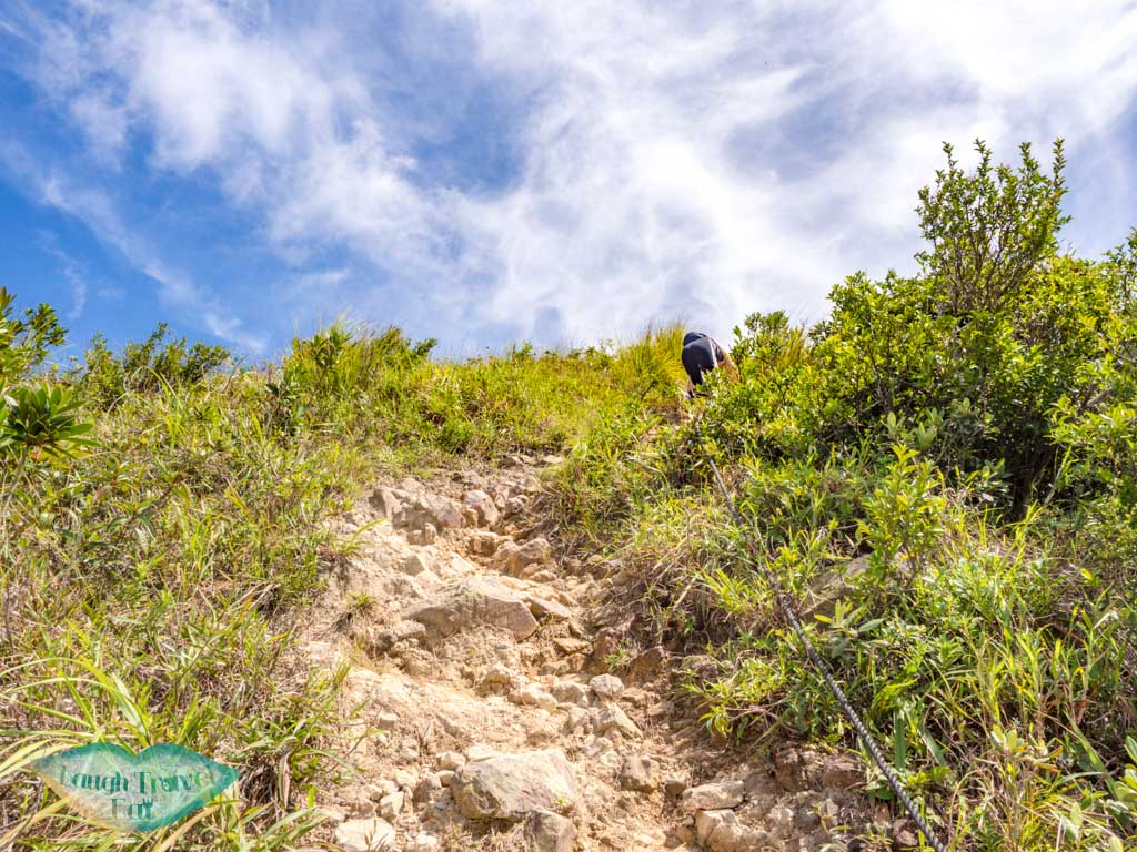 hike up yuk kwai shan ap lei pai hong kong - laugh travel eat-5