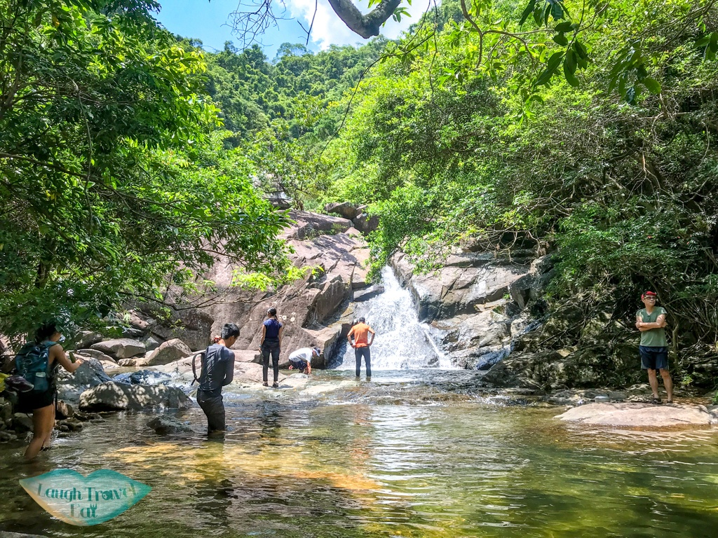 to first waterfall wang chung stream hong kong - laugh travel eat-2