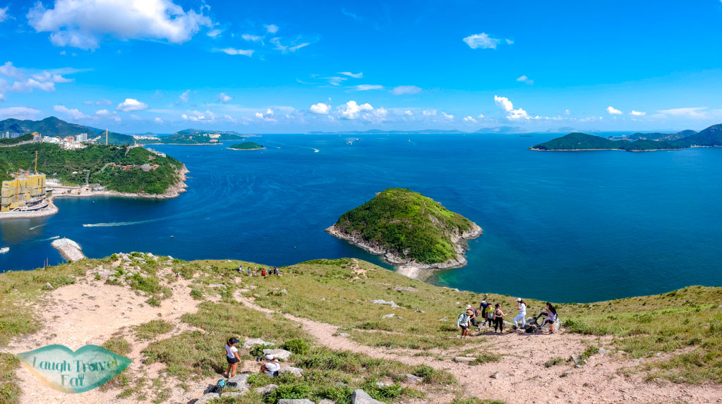 view of ap lei pai from yuk kwai shan hong kong - laugh travel eat