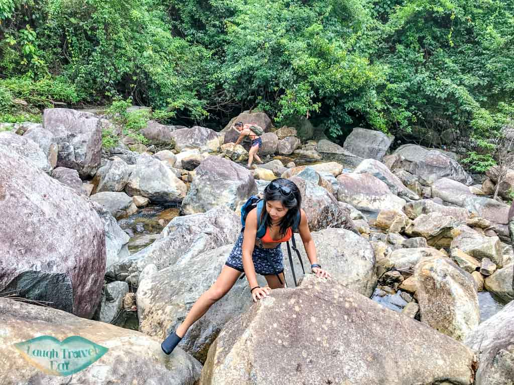 challenging second stretch of tai shing stream hong kong - laugh travel eat