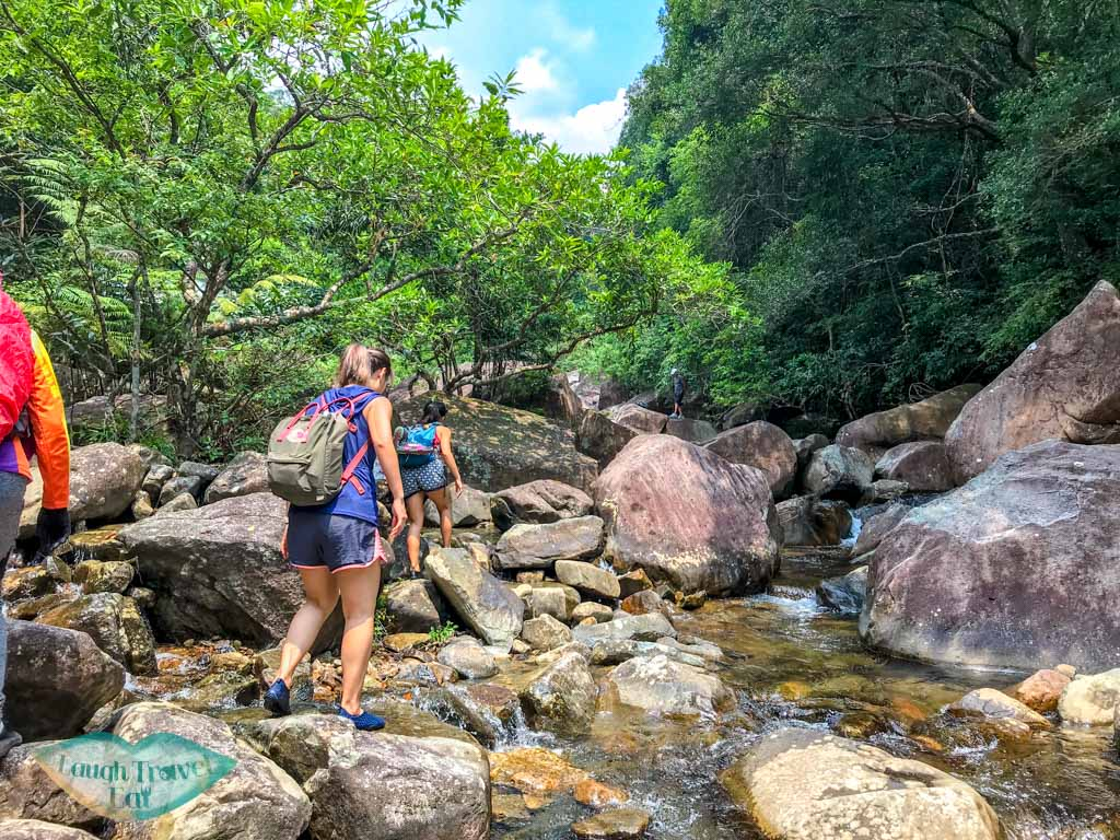 waterfalls and first stretch of tai shing stream hong kong - laugh travel eat-2